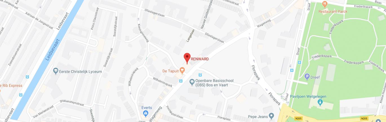 Renward google maps
